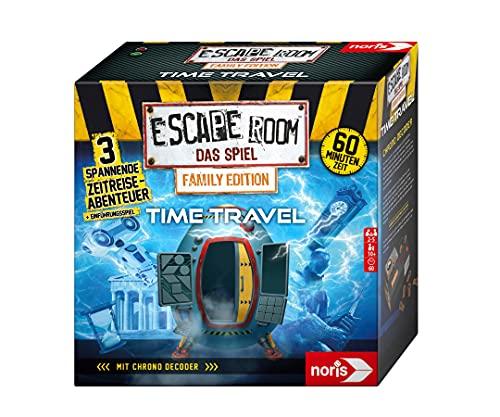 noris 606101968 - Escape Room Time Travel (Family Edition) - Familien und Gesellschaftsspiel für...