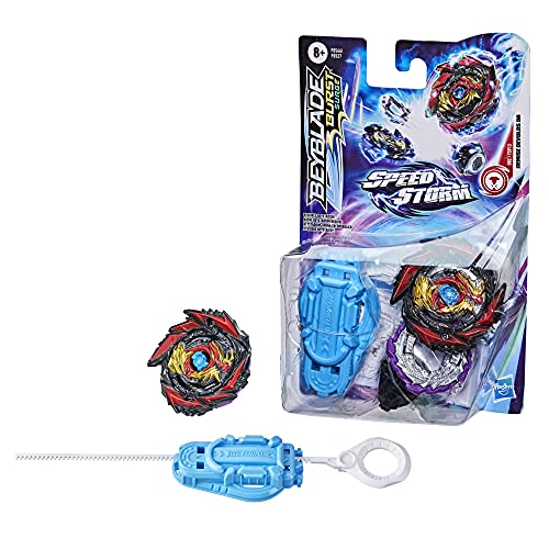 Hasbro Beyblade Burst Surge Speedstorm Demise Devolos D6 Kreisel Starter Pack – Battle Kreisel mit...
