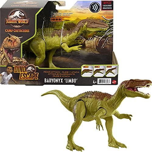 Jurassic World GWD12 - Brüllattacke-Dinosaurier-Actionfigur, ab 4 Jahren