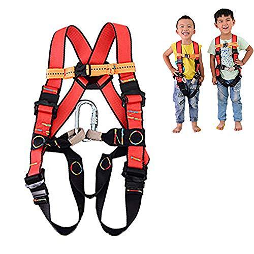 Aprilhp Ganzkörper-Klettergurt für Kinder, passend für 3-10 Jahre, Sicherheitsgurt Absturzsicherung...