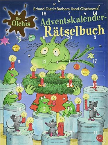Die Olchis: 'Adventskalender-Rätselbuch' von Erhard Dietl und Barbara Iland-Olschewski, Verlagsgruppe Oetinger