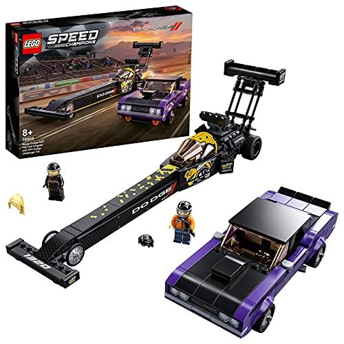Rennauto-Spielzeug 'Mopar Dodge//SRT Dragster & 1970 Dodge Challenger' von LEGO Speed Champions