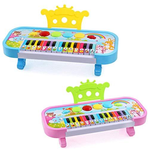 Dirgee Elektronisches Klavier Pädagogisches Spielzeug Kinder 24 Musik Keyboard Geschenk Früherer Lernen...