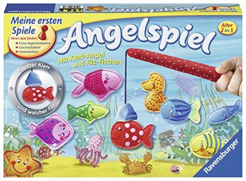 Ravensburger 22337 - Mein erstes Angelspiel - Angeln für Kinder, Fische fangen für 2-4 Spieler ab 2-5...