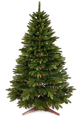 Weihnachtsbaum künstlich 180cm – Naturgetreu, Besonders dichte Zweige, einfacher Aufbau, Made in EU -...