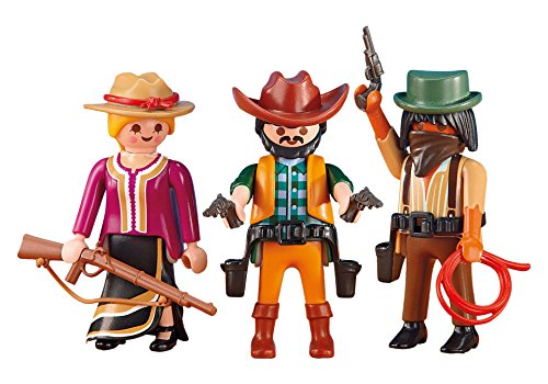 PLAYMOBIL® 6278 2 Cowboys mit Cowgirl (Folienverpackung) [Spielzeug]