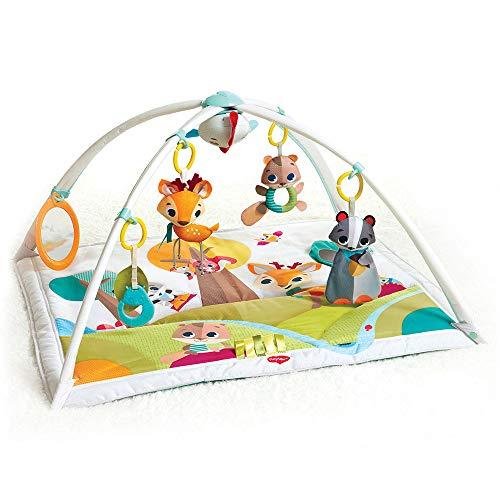 Tiny Love Baby Spieldecke Gymini Deluxe Into The Forest, Krabbeldecke mit verstellbaren Spielbögen,...
