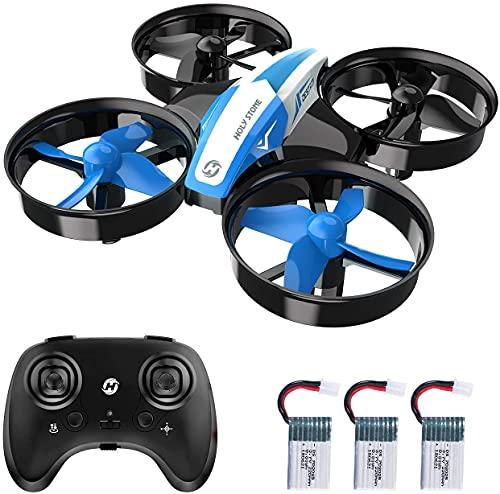 Holy Stone HS210 Mini Drohne für Kinder,RC Quadrocopter Mini Drone mit 3 Akkus,21 Min. Lange...