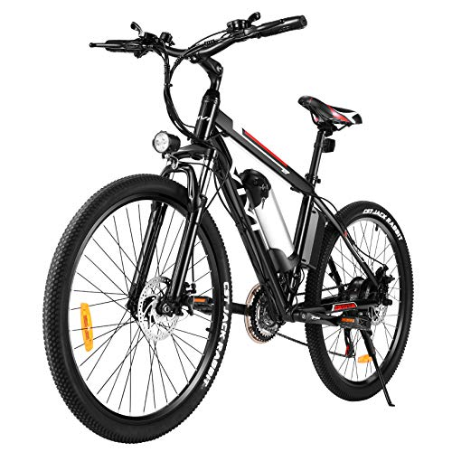 Vivi Ebike Mountainbike, 26 Zoll Elektrofahrrad, 350W Elektrisches Fahrrad E Bike Herren Damen mit...