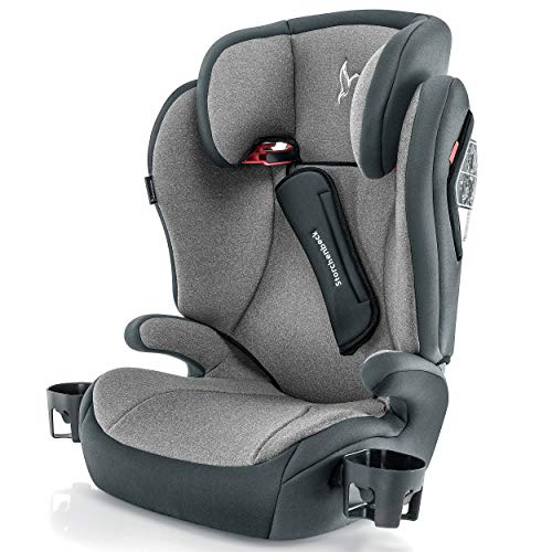 Storchenbeck Kindersitz K30 - Gruppe 2/3 Kinder Autositz (15-36 kg, 3-12 Jahre) mit verstellbarer...