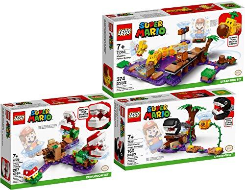 Bundle Lego® Super Mario™ 3er Set 71381 71382 71383 Begegnung mit dem Kettenhund +...