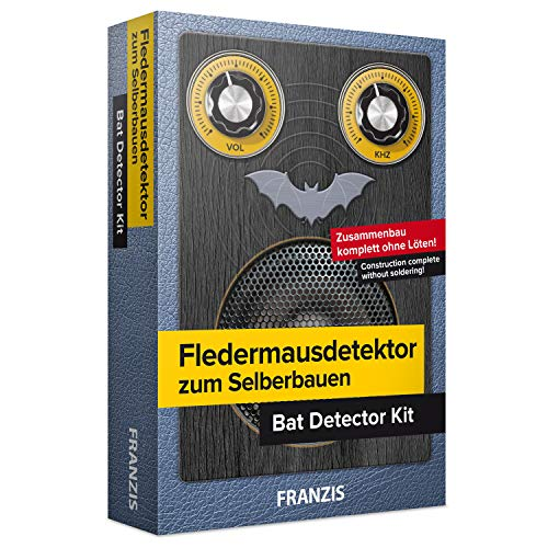 Franzis Verlag GmbH 52506554 Fledermausdetektor zum Selberbauen: Bausatz komplett ohne Löten! | Ab 14...