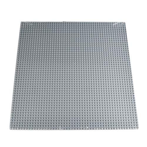 Rolanli Bauplatten, 50 x 50 Loch Stapelbare Bauplatten für Straßen, Städte, Garagen und Mehr (40 x...