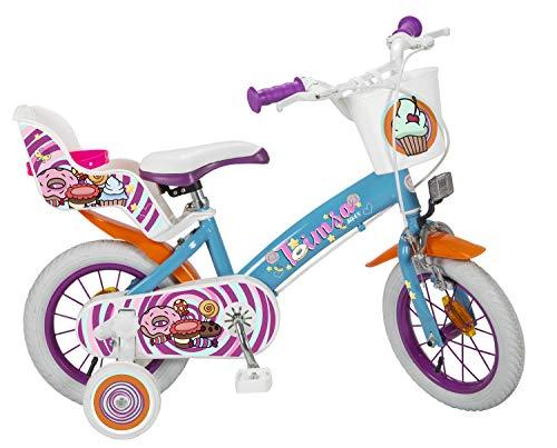 Toimsa 12 Zoll Kinderfahrrad Mädchenfahrrad Kinder Kinderrad Fahrrad Rad Bike Fantasy New Modell