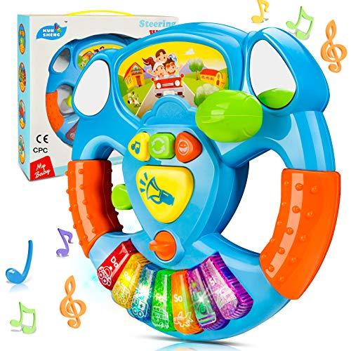HOMCENT Baby Musikspielzeug, Klaviere Keyboard für 6 9 12 18 Monate Kleinkinder, Babyspielzeug für...