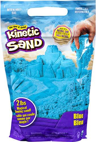 Kinetic Sand 6047183 - 907 g Beutel blau