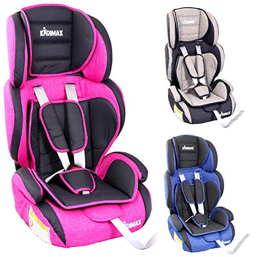 KIDIMAX® Autokindersitz Kindersitz Kinderautositz, Sitzschale, universal, zugelassen nach ECE R44/04, in...