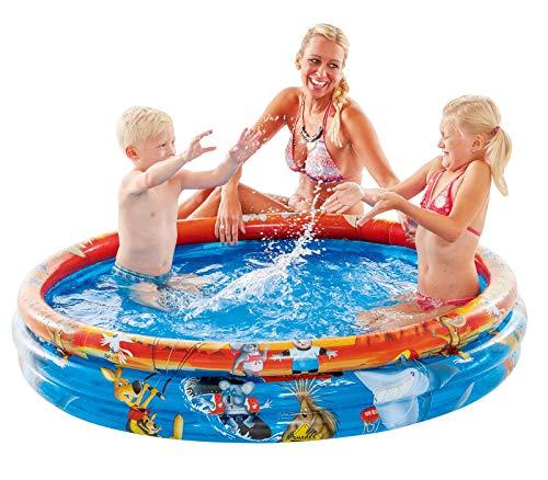 Planschbecken Down Under Ø 140 cm Kinder-Pool mit Wasserauslassventil