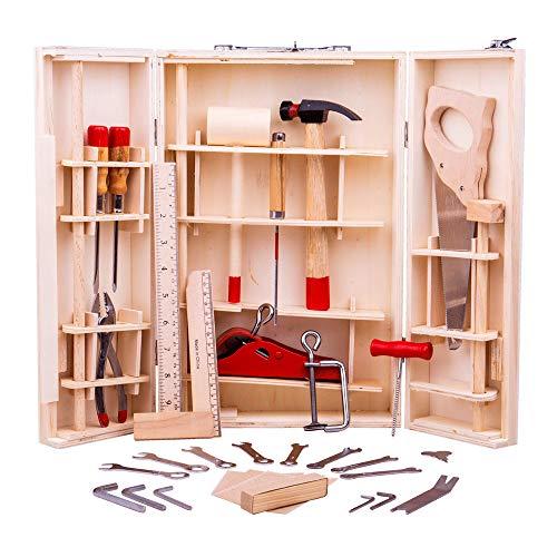 Bigjigs Toys Junior-Werkzeugkasten