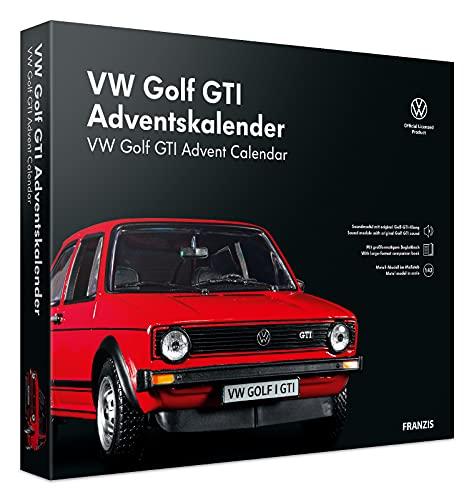 FRANZIS 55102 - VW Golf GTI rot Adventskalender 2021 - in 24 Schritten zum VW Golf GTI unterm...