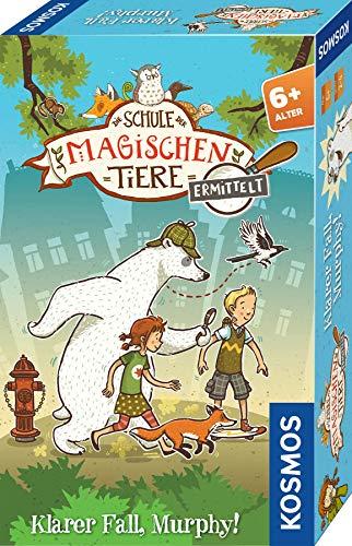 KOSMOS 712631 Die Schule der magischen Tiere ermittelt - Klarer Fall, Murphy! kniffliges Detektiv-Spiel,...