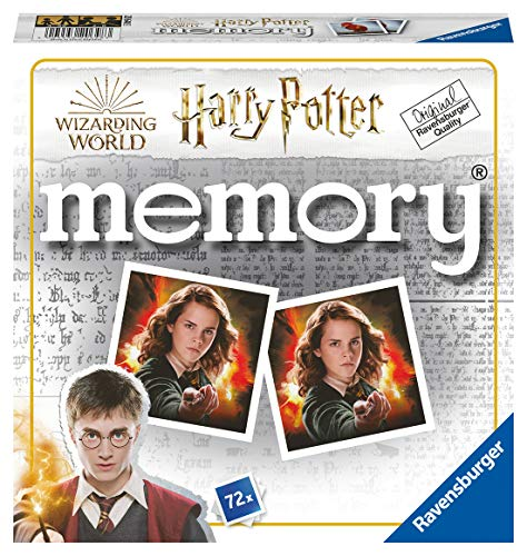 Ravensburger 20648 - Harry Potter memory, der Spieleklassiker für alle Harry Potter Fans, Merkspiel für...