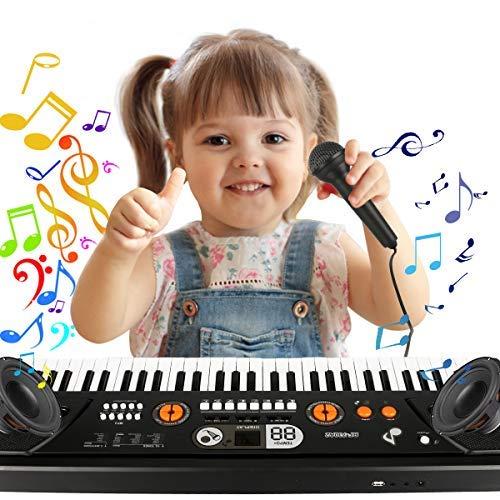 Renfox: Kinder-Keyboard mit 61 Tasten