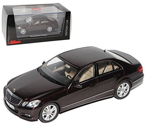 Schuco Mercedes-Benz E-Klasse W212 Limousine Avantgarde Braun Schwarz Vor Facelift Modell 2009-2013 1/43...