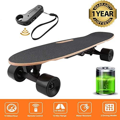 Oppikle Elektrisches Skateboard Longboard E Skateboard Elektrisches City Scooter Elektrolongboard mit...