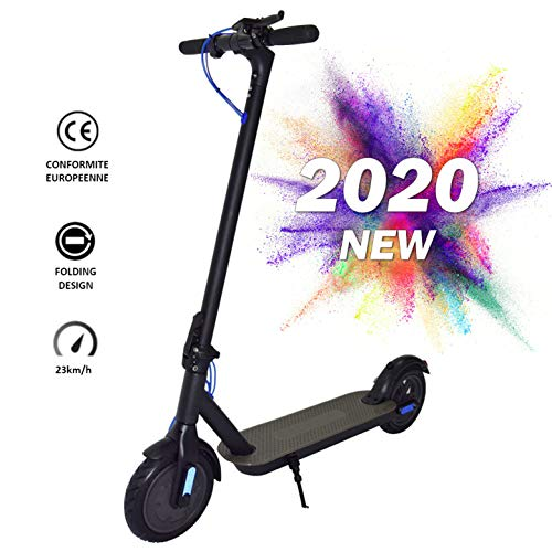 Nrkin E-Scooter, Elektro Scooter, Elektroroller Faltbar Aluminium E-Scooter, 8,5 Zoll Elektro Cityroller,...