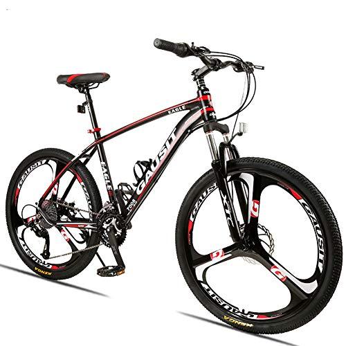 FJW Unisex-Mountainbike 24/27/30 Geschwindigkeit Aluminiumlegierungsrahmen 26 Zoll 3-Speichen-Räder Mit...