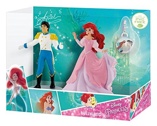 Bullyland 13415 - Spielfiguren in Geschenkpackung, Walt Disney Arielle und Prinz Eric mit...