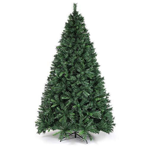 SALCAR Weihnachtsbaum künstlich 270cm mit 1468 Spitzen, Tannenbaum künstlich Schnellaufbau inkl....