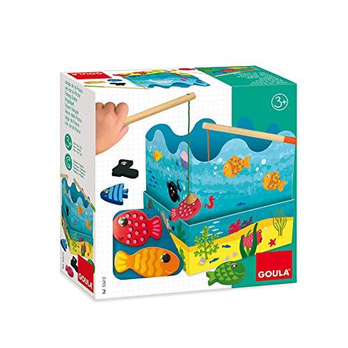 Jumbo Spiele 53412 Spiele - GOULA Angelspiel Holzspielzeug für Kleinkinder, Ab 3 Jahren