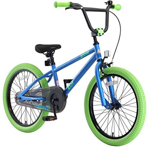BIKESTAR Kinderfahrrad für Mädchen und Jungen ab 6-7 Jahre | 20 Zoll Kinderrad Kinder BMX Freestyle |...