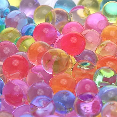 LINGYE Wasserperlen für Pflanzen 50.000 Aquaperlen Wachsende, Bälle Gel Perlen Wassergel Kugeln...
