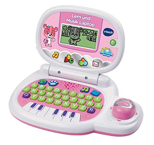 Vtech 80-139554 Lern und Musik Laptop, pink