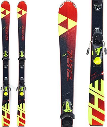 FISCHER Kinder Skier RC4 The Curv Pro inkl. Bindung FJ7 AC schwarz/rot (701) 120