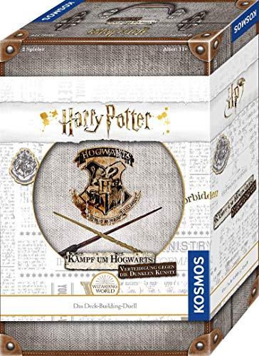 Kosmos Harry Potter Kampf um Hogwarts - Verteidigung gegen die Dunklen Künste, Deck-Building-Duell für...