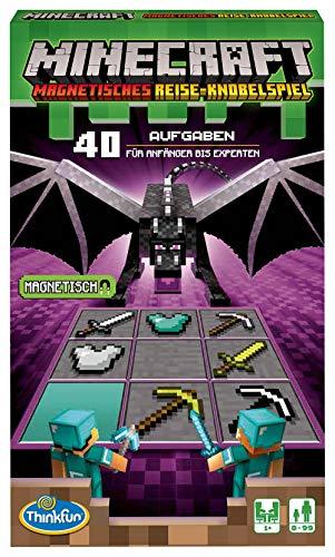 Magnet-Reisespiel 'Minecraft' von ThinkFun