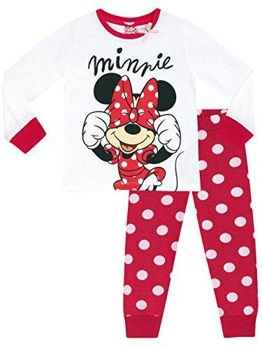 Disney Minni Maus Mädchen Minnie Mouse Schlafanzug 104 cm