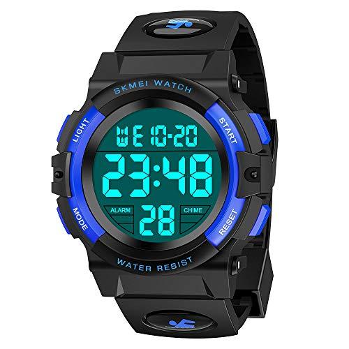 wetepuxi Armbanduhr Jungen, Geschenk Einschulung Junge Spielzeug 5-15 Jahre Jungen Digitaluhr Kinder...