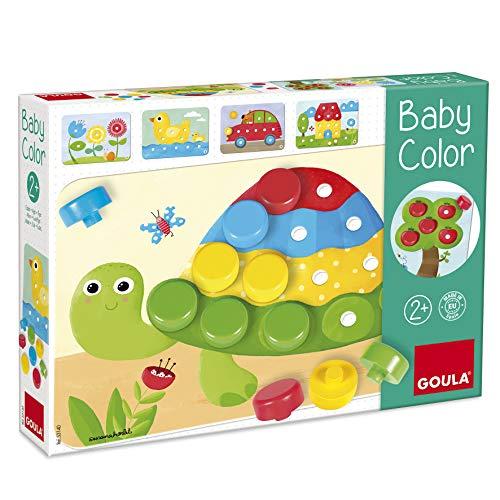 GOULA - Baby Color - Holzspiel für Kleinkinder - Ab 2 Jahren