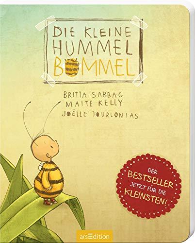 Die kleine Hummel Bommel (Pappbilderbuch): Bestseller-Kinderbuch zum Thema Mut und Selbstvertrauen, ab 3...