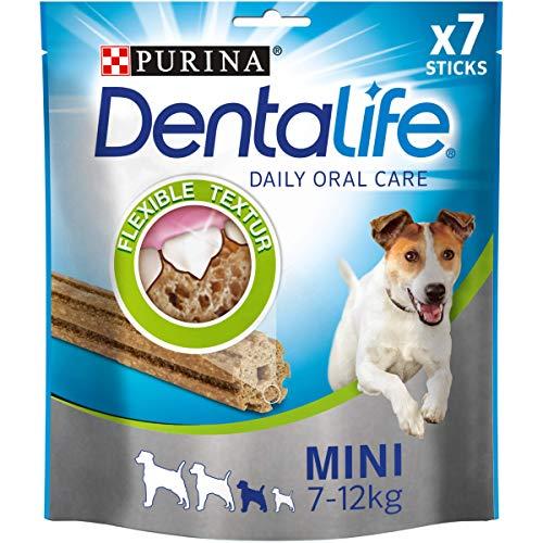 PURINA DENTALIFE Mini Hunde-Zahnpflege-Snacks reduziert Zahnstein-Bildung und Mundgeruch, Huhn, kleine...