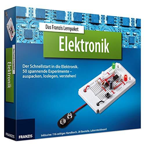 FRANZIS Lernpaket Elektronik: Der Schnellstart in die Elektronik. 50 spannende Experimente - auspacken,...