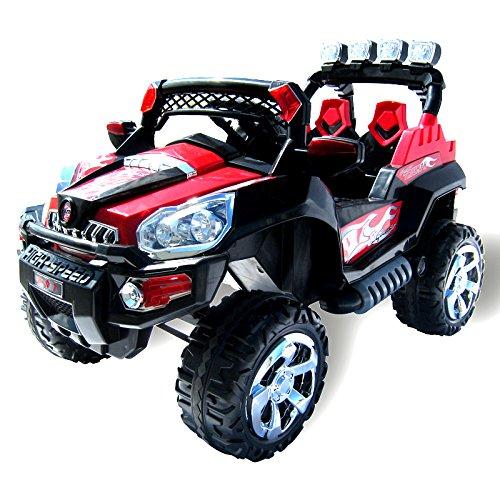 Actionbikes Motors Elektro Kinderauto Jeep 801 mit 2 x 25 Watt Motor Elektro Kinderauto Kinderfahrzeug in...