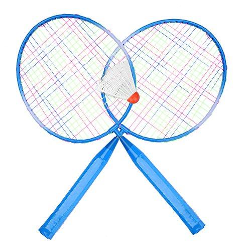 Kinder Federballschläge, strapazierfähiger Badmintonschläger aus Nylonlegierung für Kinder...
