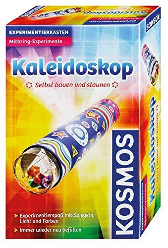 KOSMOS 657451 - Kaleidoskop Selbst bauen und staunen, Experimentierspaß mit Spiegeln, Licht und Farben,...