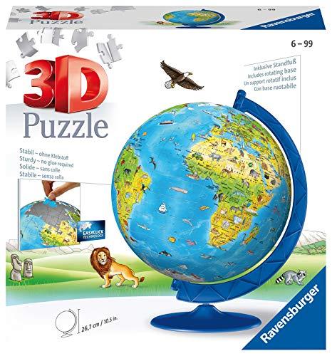 Ravensburger Globus für Kinder 180Teile 3D-Puzzle